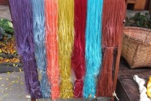 fils de soie thailandaise - Les sentiers de Soie